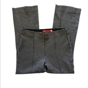 ANTHRO Cartonnier Checkered Cropped Pants S